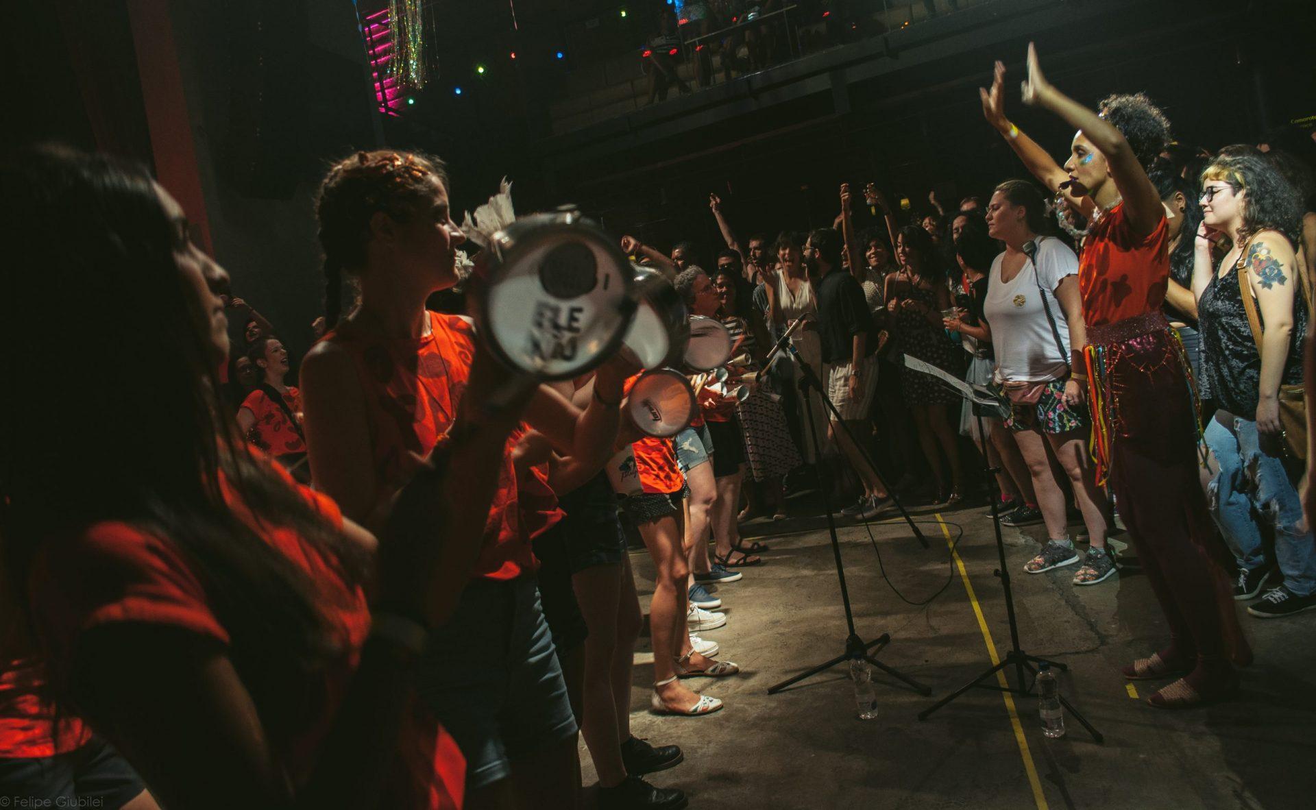 Imagem 1 do Evento Bloco Pagu convida Marina Lima